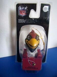 NWT - NFL Arizona Cardinals Mascot Ornament