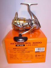 DAIWA REVROS MX3000 Spinning Fishing Reel PRE SPOOLED 15lb X220m BRAID