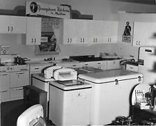 Vtg 1960s Youngstown Kitchens By Mullins Appliance Showroom Store Photo #1215