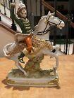 Antique Kister Porcelain Joachim Murat Figurine French Revolution *Broken Hand*