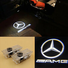 AMG logotipo 2 Puerta Proyector Charco Luz Mercedes Clase C CLA CLS CLK