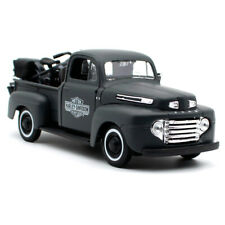 Maisto 1948 Ford F-1 Pickup Truck Harley Davidson Flat Army Green With 1942