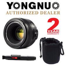 Yongnuo YN 50mm F1.8 Auto Focus Fixed Prime Lens for Nikon DSLR + Pen & Pouch