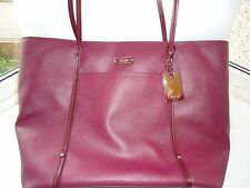 Large TUMI  Q Tote bag with leather trim BNWT