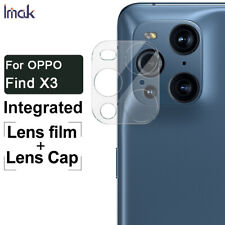 """2pcs IMAK Clear Camera Lens Glass Film For OPPO Find X3 / Find X3 Pro 6.7"""""""