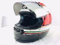 DUCATI Arai CORSE RX-7 Corsair Helmet Drudi Performance LARGE MOTORCYCLE Italy