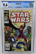 Star Wars #82 (1984) CGC Graded 9.6 Wh Pages Luke Skywalker Marvel Comics