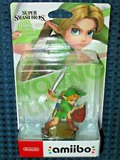 Nintendo amiibo Young Link Switch Super Smash Bros Ultimate Breath of Wild JAPAN