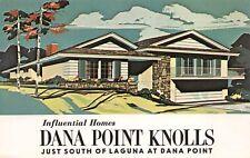 Advertising Postcard Influential Homes Sale Dana Point Knolls, California~123877