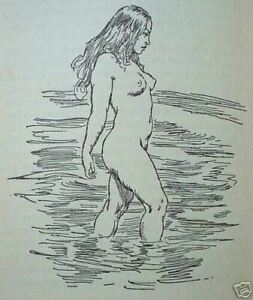 1951 AGE OF CONSENT Norman Lindsay w 28 DRAWINGS FREE EXPRESS SHIPPING W/WIDE