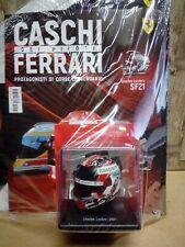 Casco Helmet Charles Leclerc 2021 1/5 con Fascicolo e Custodia