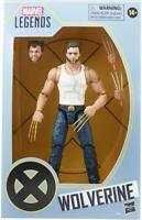"Hasbro Marvel Legends X-Men Wolverine 6"" Action Figure Exclusive White Vest New"