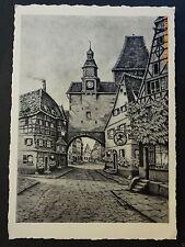 Gemälde Ansichtskarten aus Deutschland