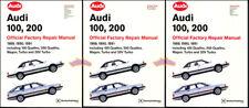 Tienda Manual 200 100 Servicio Reparación Audi Libro Oficial Quattro Bentley