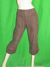 MISS CAPTAIN T 40 Superbe pantacourt marron femme coton short pants