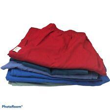 Women's Medium Large Scrub Pant Lot of 6 Medical Nursing Multicolor Medical Flaw