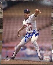 Les Straker Autographed 8x10 Photo Minnesota Twins 1987 World Series pitch COA