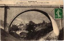 CPA Annot Station Estivale, Sous le Viaduc de la Beite (683795)