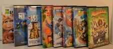 Children DVD Lot of 8 Muppets Ice Age Finding Nemo Madagascar Happy Feet
