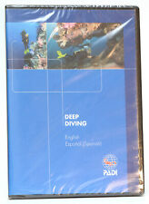 Padi Deep Diving Dvd #70842 English and Spanish Deep diver specialty Buceo