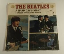 The Beatles Capitol Records Vintage Collectible Record A Hard Day's Night