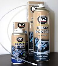 K2 KLIMA DOKTOR FRESH Kit System CLEANER FOAM & BOMB AIR CON ELIMINATE ODOR A/C