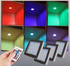 RGB LED Unterbauleuchte Schrankleuchten Möbelleuchte Regalbeleuchtung Set H-2121
