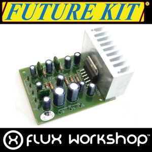 Future Kit Stereo Amplificatore Audio Fai da Te FK605 8W 20Hz 20kHz Saldatura