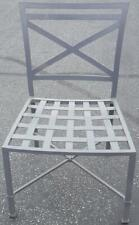 All Metal Construction Outdoor Chair - VGC - Great Piece - GOES WITH ANY DECOR