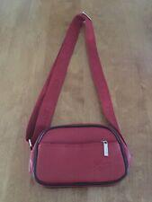 Lacoste Red And Black Crossbody Vinyl Bag NWOT