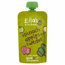 Ellas Kitchen épinards Apple & Swede 4m+ - 120 g x 7 - 49155