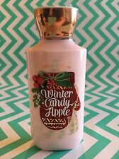 Bath and Body Works Winter Candy Apple 8 OZ Body Lotion 2016 Edition NEW