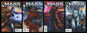 Mass Effect Redemption Full Comic Set 1-2-3-4 Lot Mac Walters video game tie-in