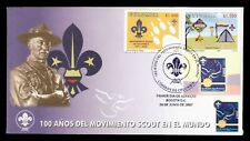 DR WHO 2007 COLOMBIA BOY SCOUTS CENTENNIAL FDC C198198