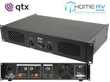 QTX Q1000 Stereo Power Amplifier 1000W Speaker Sound System DJ 2 x 500W  172.055