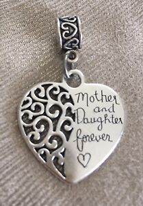 Mother and Daughter European Charm - Mum or Daughter Gift