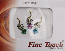Bindi bijou de peau front bollywood multicolore dot tilak IND-R 1394