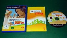 SingStar Summer Party KOMPLETT mit Anleitung und OVP fuer Sony Playstation 2 PS2
