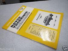 REVUE TECHNIQUE AUTOMOBILE DOCUMENTATION PEUGEOT 305 GL GR SR *
