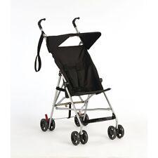 Passeggino Leggero Nero Pieghevole Con Capottina Babiesrus Safety Da viaggio