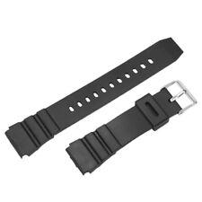 Men Women 18mm Military Silicone Rubber Waterproof Sport Wrist Watch Band Strap
