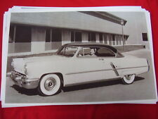 1953 LINCOLN CAPRI 2DR HARDTOP  11 X 17  PHOTO   PICTURE