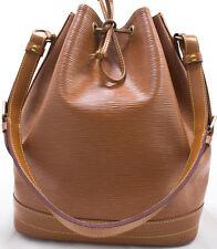 Louis Vuitton EPI NOE Grand Schoulder Bag borsa spalla beige Jipang ORO XL