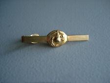 VINTAGE U.S.M.C.  GOLD TONE  TIE CLASP    M-6