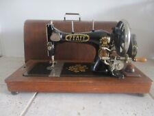 Stunning 1928  Pfaff 11 Sewing Machine with wooden case