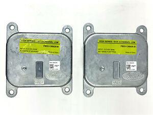 2x OEM 16-19 Ford Explorer XLT Limited Platinum LED Headlight Module FB5313B626B