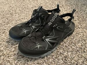 Merrell Capra Rapid Sieve Mens Black Gray Grey Water Sandals Shoes Size 15