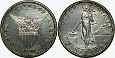1903 US/Philippines 50 Centavos PROOF ~ AU/UNC Details/Impaired ~ Silver ~ MX424