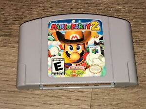 Mario Party 2 Nintendo 64 N64 Cleaned & Tested Authentic