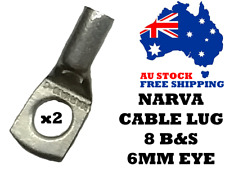 Narva 57120 Battery Cable LUG Cable Size 10mm2 8B&S 6mm Eye, Auto Electrical